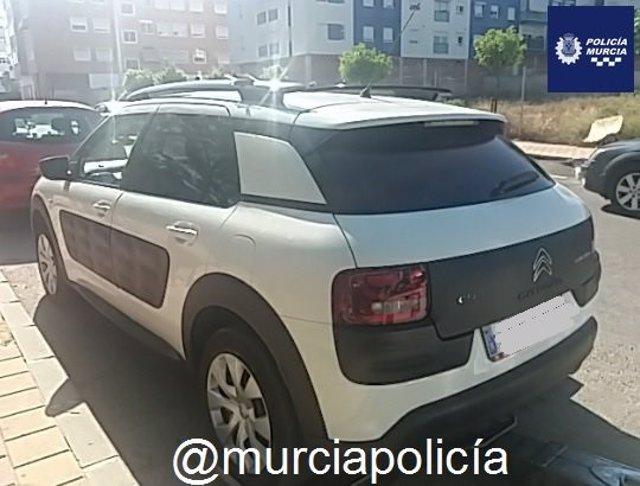 Sucesos.- Detenido tres días consecutivos en El Palmar (Murcia) por conducir ebrio y sin carné
