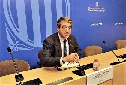 """El director de Mossos: """"Debemos nuestra legitimidad al Govern y lealtad a todas las instituciones"""""""