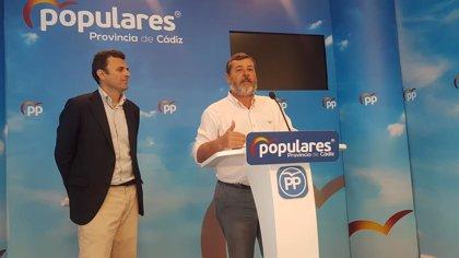 El PP reitera el compromiso de la Junta con el Hospital de Cádiz