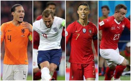 Portugal, Inglaterra, Países Bajos y Suiza quieren el último premio del año