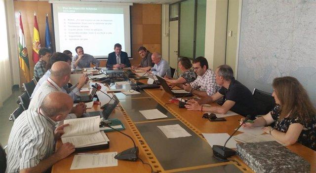 Íñigo Nagore ha presidido la reunión del Consejo Asesor de Medio Ambiente
