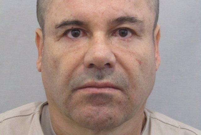 """FILE PHOTO: Undated handout photograph of drug lord Joaquin """"El Chapo"""" Guzman di"""