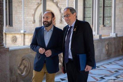 """Òmnium traslada a Torra la importancia de la unidad soberanista ante """"la represión"""""""
