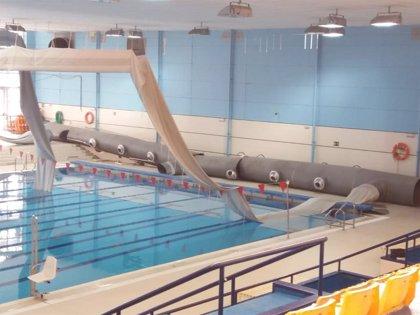 Adelante Sevilla exige explicaciones tras la caída de un gran tubo de refrigeración en la piscina de San Pablo