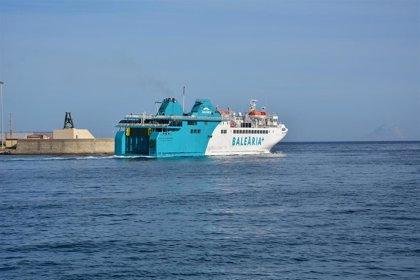 Fomento adjudica a Baleària la gestión del servicio de la línea de interés público Algeciras-Ceuta hasta julio de 2020