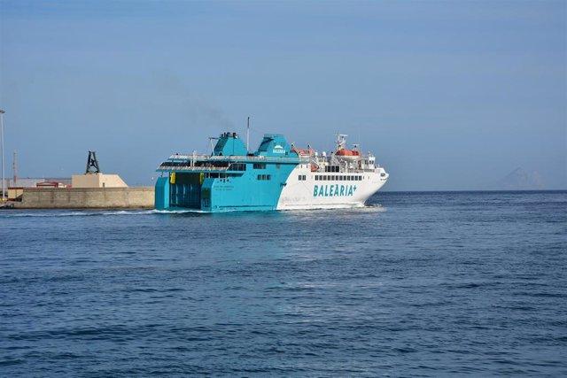 Fomento adjudica a Baleria la gestión del servicio de la línea de interés público Algeciras-Ceuta hasta julio de 2020