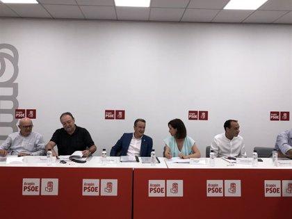 Sánchez Quero (PSOE) negociará esta semana con el PAR los gobiernos de comarcas y ayuntamientos