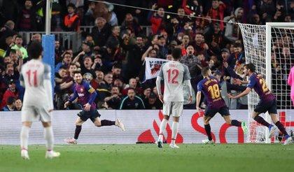 La falta de Messi ante el Liverpool en el Camp Nou, mejor gol de esta 'Champions'