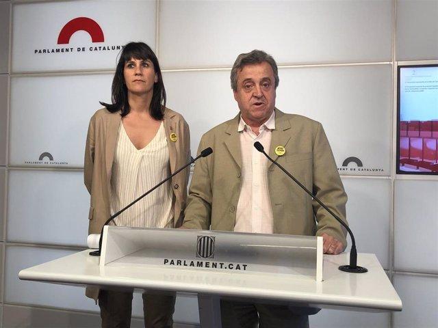 """Procés.- JxCat rechaza el relato de la Fiscalía porque es """"reaccionario e ideológico"""""""
