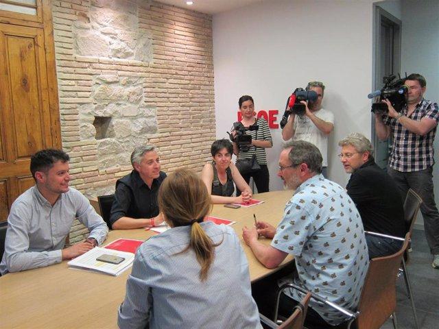 """PR+ tilda de cordial reunión con PSOE aunque """"en nuestro caso todo pasa por tripartitos y no depende solo de nosotros"""""""