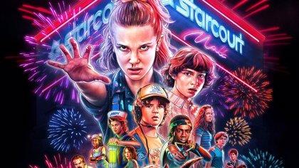 Stranger Things 3: Genial póster retro al más puro estilo de las películas de superhéroes