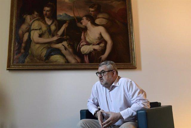 """Miguel Falomir: """"El Museo del Pardo recibe este galardón con el legítimo orgullo de ser patrimonio de todos"""""""