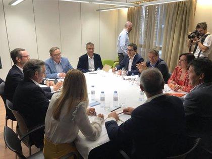 Pérez (Cs) y Beamonte (PP) emplazan al PAR a negociar una mayoría tras el sí de los populares al decálogo naranja