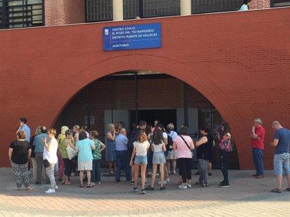 Asociaciones vecinales de Vallecas se reunirán el martes con delegada del Gobierno para tratar seguridad en sus barrios