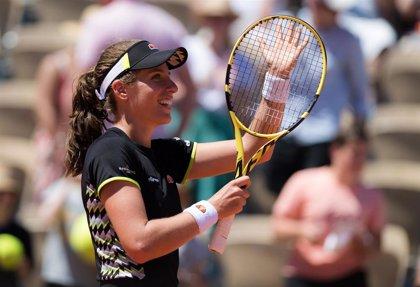 Konta apea a Stephens y se cita con Vondrousova en semifinales de Roland Garros