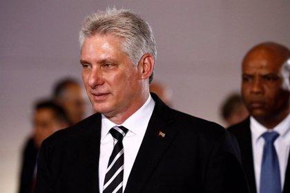 """Díaz-Canel dice que Cuba """"no se dejará amedrentar"""" tras las nuevas acciones de EEUU"""
