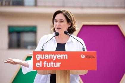 """Colau defiende pactar con ERC y PSC para tener una """"mayoría de gobernabilidad"""" en Barcelona"""