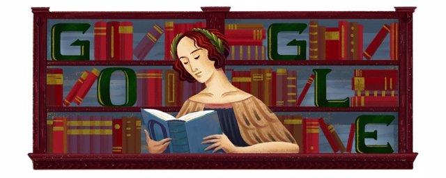 Google homenajea con un 'doodle' a la filósofa Elena Cornaro al cumplirse el 373 aniversario de su nacimiento