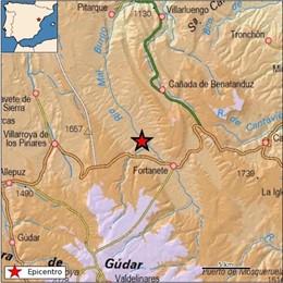 Registrado un terremoto de magnitud 3,3 con epicentro en Fortanete (Teruel)