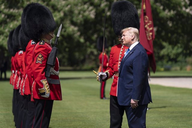 Trump in London