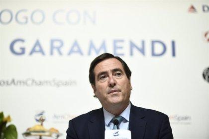 """Garamendi (CEOE) ve un """"error"""" que Trabajo ataque al Banco de España por sus previsiones sobre el SMI"""