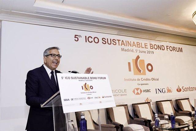 Economía/Finanzas.- El ICO ha lanzado emisiones de bonos sostenibles por 3.050 millones desde 2015