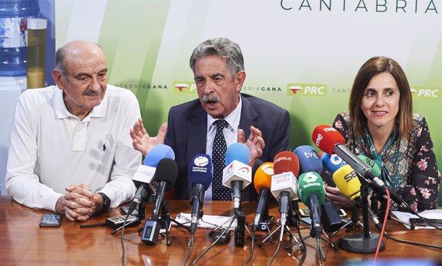 Elecciones 26M 2019. Seguimiento de resultados del Partido Regionalista de Cantabria