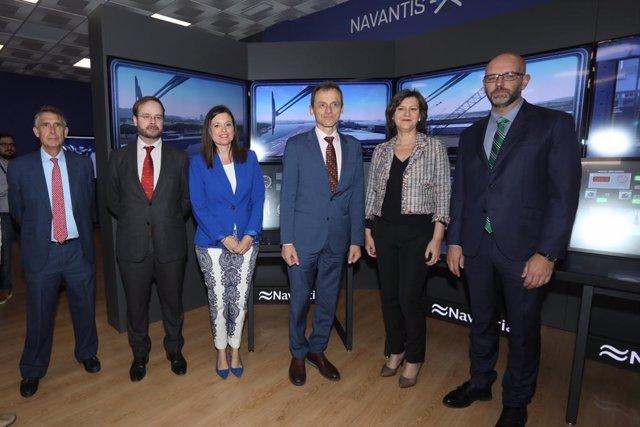 Economía.- Pedro Duque destaca la aportación tecnológica de Navantia, que destina casi el 11% de sus ingresos a I+D+i