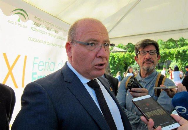 Jaén.- 26M.- Márquez (PP) evita pronunciarse sobre posibles contactos para la formación de gobierno