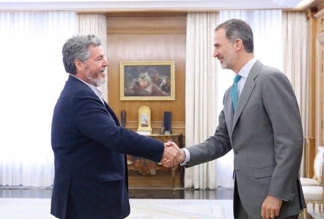 Equo avanza al Rey que sólo apoyará a Pedro Sánchez si acepta gobernar en coalición con Unidas Podemos