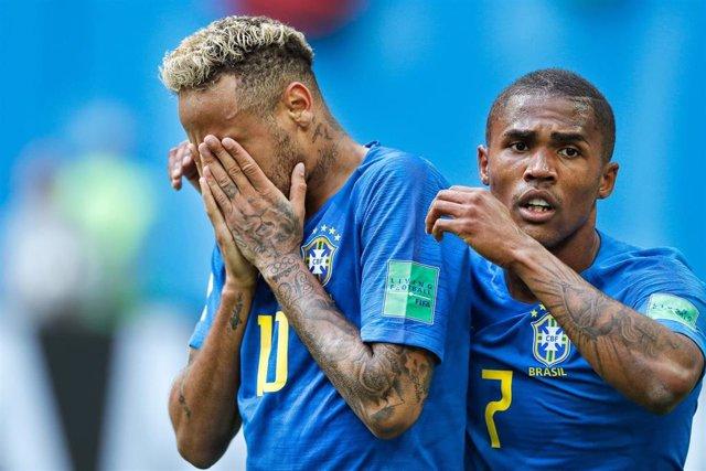 FOOTBALL - 2018 FIFA WORLD CUP RUSSIA - BRAZIL V COSTA RICA