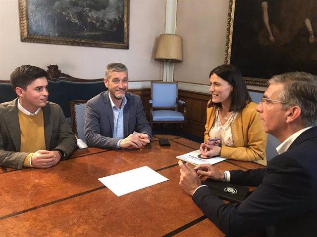 Ceruti dice que Cs estará en el futuro gobierno de Santander, bien con PP o con PSOE-PRC