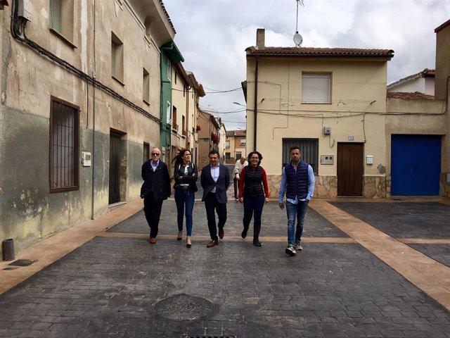 Urbanizadas tres calles de El Villar de Arnedo