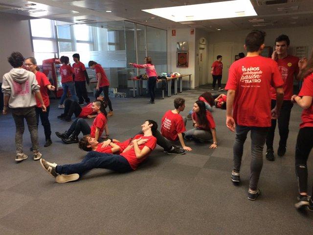 Cadis.- Els premis 'Buero' de la Fundació Coca-cola arriben a Cadis per formar a joves a través del teatre