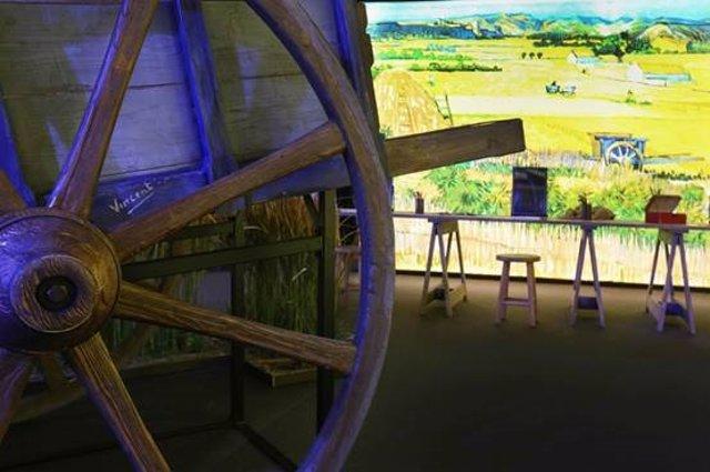 La exposición 'Meet Vincent van Gogh' extiende su estancia en Barcelona por buena acogida