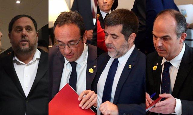 La Mesa del Congreso suspende a los 4 diputados presos por el 'procés',con la oposición de Unidas Podemos