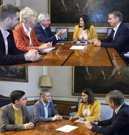 PP seguirá negociando con PRC y Cs con el objetivo de que Igual siga siendo alcaldesa de Santander