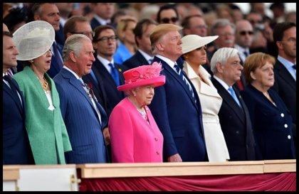 Los líderes mundiales rinden tributo a los veteranos del 'Día D'