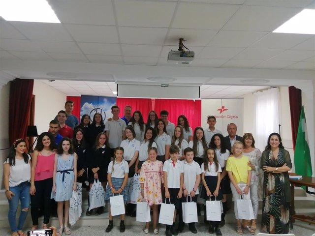 Huelva.- La Fundación Cepsa premia por el Día del Medio Ambiente a escolares que plasmaron su visión del mundo