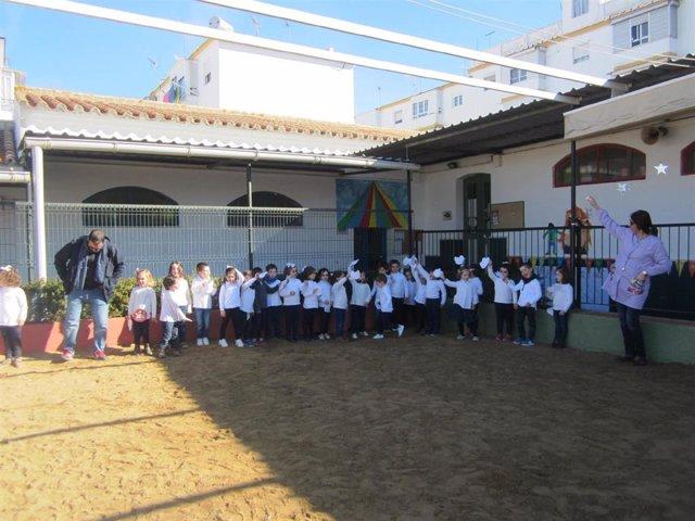Sevilla.- Supera.- Firmado el contrato de las obras de mejora del colegio El Real de Carmona