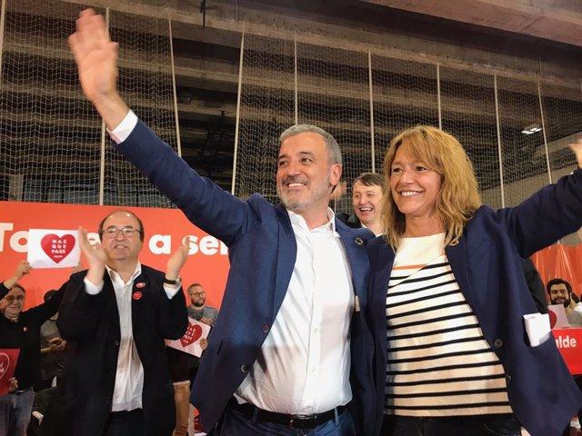 """26M.- Collboni demana el vot per evitar un alcalde que pensi solament """"en què diuen en Waterloo"""""""