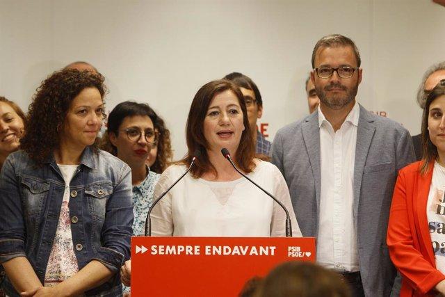 Eleccions 26M 2019. Seguiment de resultats del PSIB a Balears