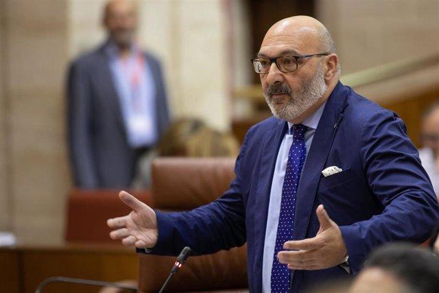 """Vox, sobre la entrada en el Gobierno andaluz: """"No se ha planteado de origen y no creo que se vaya a plantear ahora"""""""