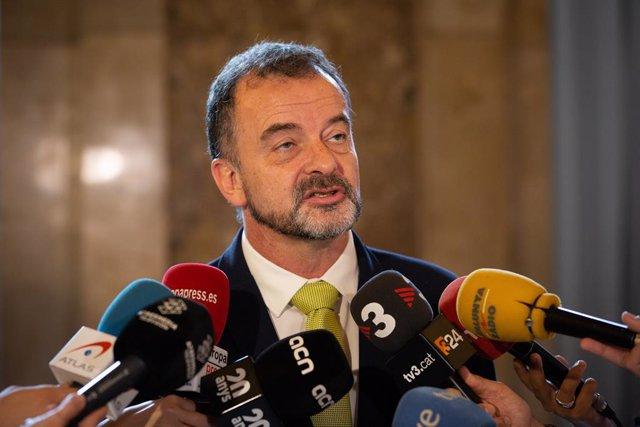 """Bosch defensa la """"legitimitat"""" de Puigdemont, Comín i Junqueras per ser eurodiputats"""