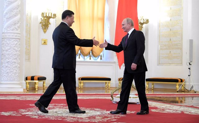 Chinese President Xi Jinping visits Russia