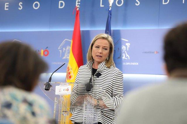 Audiencia del Rey a Ana Oramas, de Coalición Canaria-Partido Nacionalista Canario