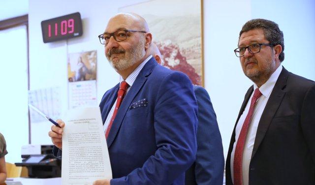 Vox registra su enmienda de totalidad al Presupuesto andaluz 2019 de PP y Cs