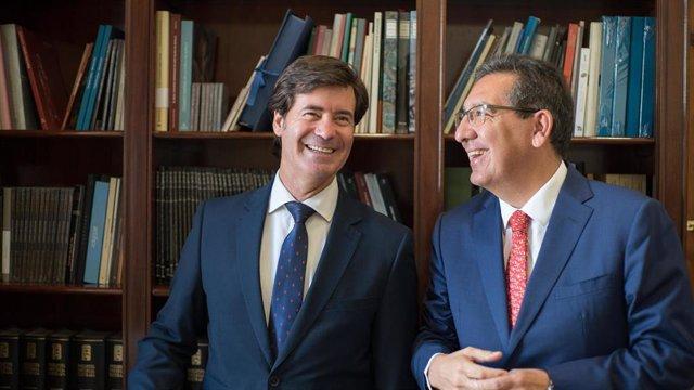 Sevilla.- Cajasol.- Fundación Cajasol y la CES firman un convenio para impulsar el tejido empresarial