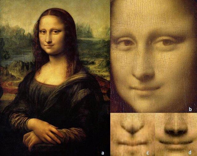 La sonrisa de Mona Lisa no era sincera, según indica su asimetría