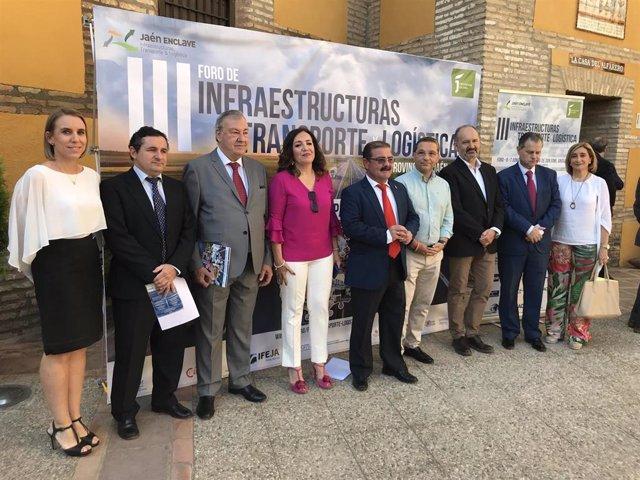 Jaén.- MásJaén.- Expertos en transporte y logística analizan en Andújar los cambios en estos sectores